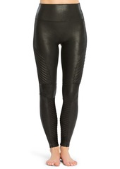SPANX® Faux Leather Moto Leggings