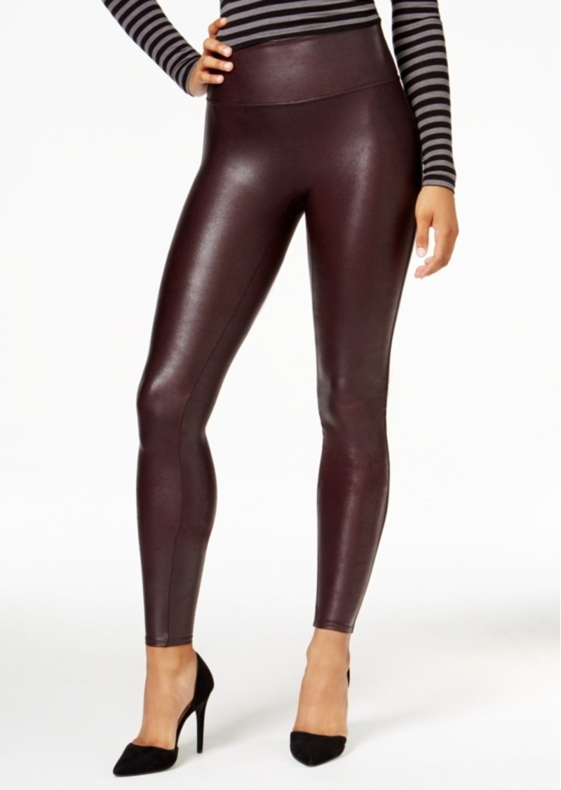 Spanx Spanx Faux Leather Tummy Control Leggings