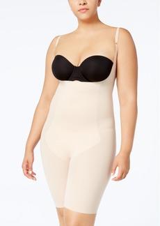 Spanx Women's Plus Size Thinstincts Open-Bust Mid-Thigh Bodyshaper 10021P