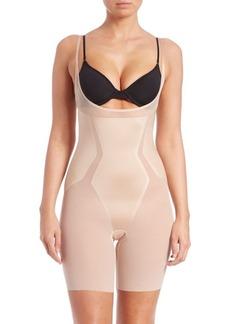 Spanx Haute Contour Open-Bust Mid-Thigh Shape Suit