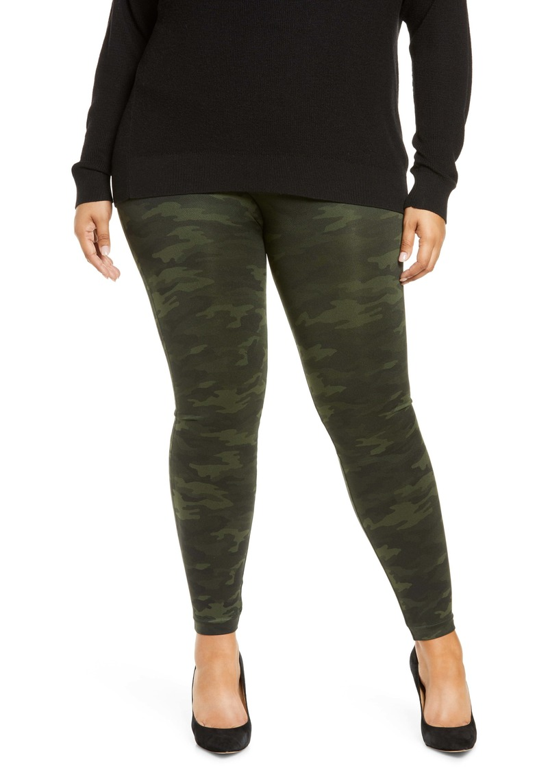 SPANX® Look At Me Now Seamless Leggings (Plus Size)