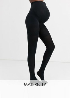Spanx Maternity Mama 60 denier opaque smoothing tights in black
