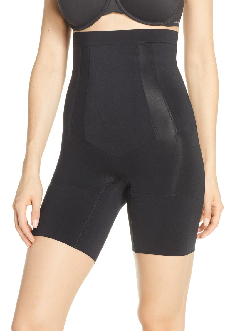 SPANX® OnCore High Waist Mid Thigh Shaper Shorts