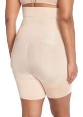 SPANX® OnCore High Waist Mid Thigh Shaper Shorts (Plus Size)