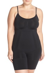 SPANX® OnCore Mid-Thigh Bodysuit (Plus Size)