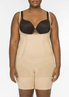 Spanx Oncore Open Bust Midthigh Bodysuit Lingerie