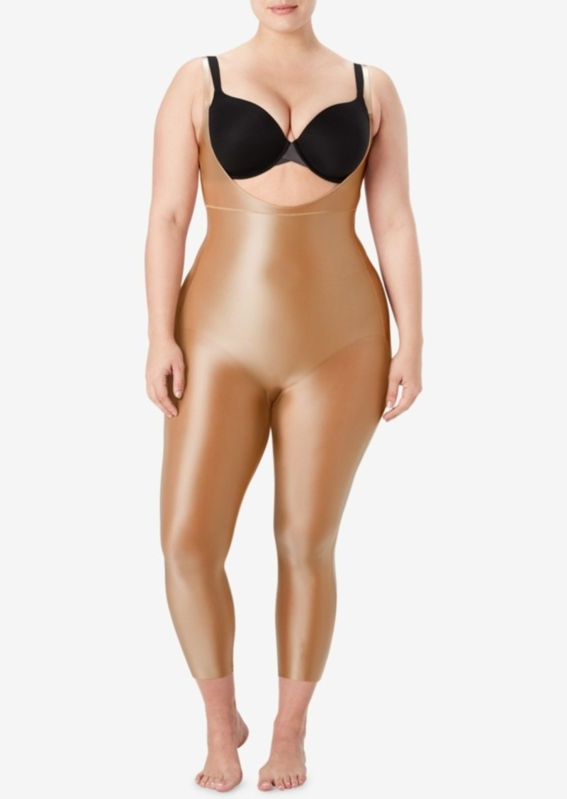 458ee9899b369 Spanx Spanx Women's Plus Size Suit Your Fancy Open-Bust Catsuit ...