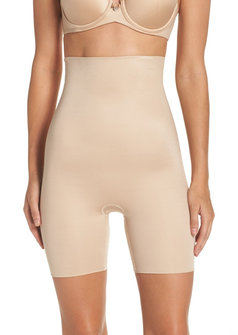 SPANX® Power Conceal-Her High Waist Mid-Thigh Shaping Shorts