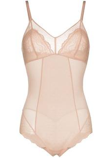 Spanx Spotlight on Lace mesh shape bodysuit