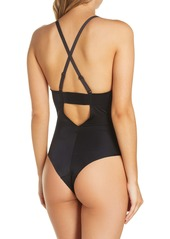 SPANX® Suit Your Fancy Plunge Low-Back Thong Bodysuit