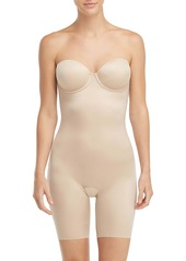 SPANX® Suit Your Fancy Strapless Cupped Mid Thigh Bodysuit