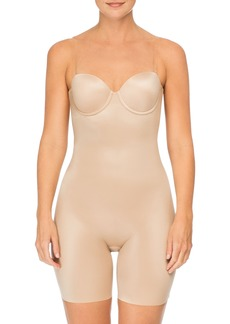 SPANX® Suit Your Fancy Strapless Cupped Mid-Thigh Shaper Bodysuit