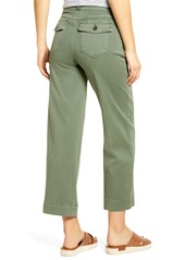 SPANX® Wide Leg Twill Pull-On Pants