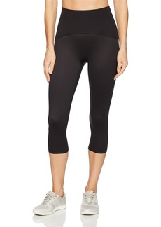 SPANX Women's Active Compression Knee Length Leggings Pants black M