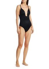 Spanx Suit Your Fancy Plunge Bodysuit