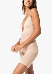 Spanx Suit Your Fancy plunge mid-thigh bodysuit