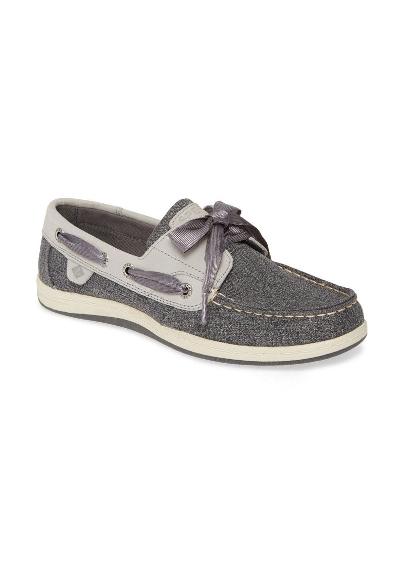 Sperry Top-Sider Sperry Koifish Canvas Boat Shoe (Women)