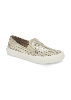Sperry Top-Sider Sperry Seaside Nautical Perforated Slip-On Sneaker (Women)