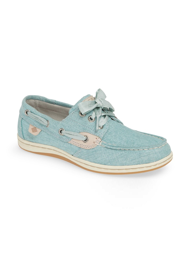 Sperry Top-Sider Sperry Songfish Linen Boat Shoe (Women)