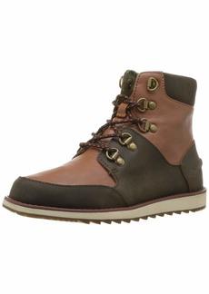 Sperry Top-Sider Boys' Windward Boot Sneaker Brown/tan