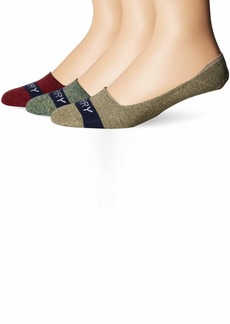 Sperry Top-Sider Men's 3 Pack Signature Invisible No Show Liner Socks  Medium/Large