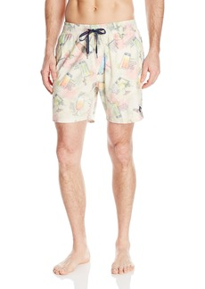 Sperry Top-Sider Men's 99 Bottles of Rum Volley Swim Trunk