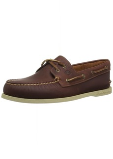 Sperry Top-Sider Men's A/O 2-Eye Pullup Boat Shoe tan