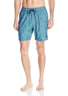 Sperry Top-Sider Men's Snappy Decision Volley Swim Trunk