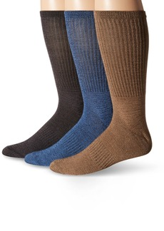 Sperry Top-Sider Men's Soft Extreme Core Stripe Crews  Sock Size:10-13/Shoe Size: 6-12
