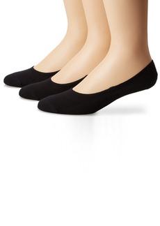 Sperry Top-Sider Men's Solid Canoe 3 Pair Pack Liner Socks  10-13 (Shoe Size 6-12)