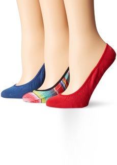 Sperry Top-Sider Women's 3 Pack Printed Micro Liner Socks