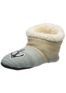 Sperry Top-Sider Women's Anchor Lurex Sherpa Slipper Sock  Small/Medium