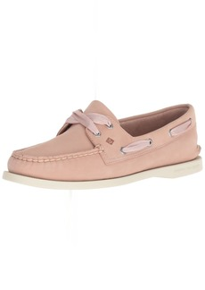 Sperry Top-Sider Women's A/O Satin LACE Boat Shoe Rose dust
