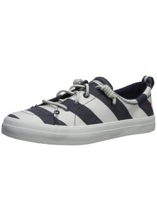 Sperry Top-Sider Women's Crest Vibe Breton Stripe Sneaker  5.5 Medium US