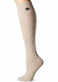 Sperry Top-Sider Women's Fashionable Warm Soft & Cozy Long Knee High Socks