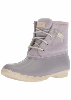 Sperry Top-Sider Women's Saltwater Emboss Wool Rain Boot