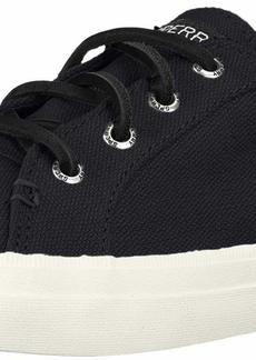 Sperry Top-Sider Sperry Womens Crest Vibe Linen Sneaker Black