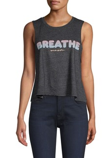 Spiritual Gangster Breath Cropped Tank