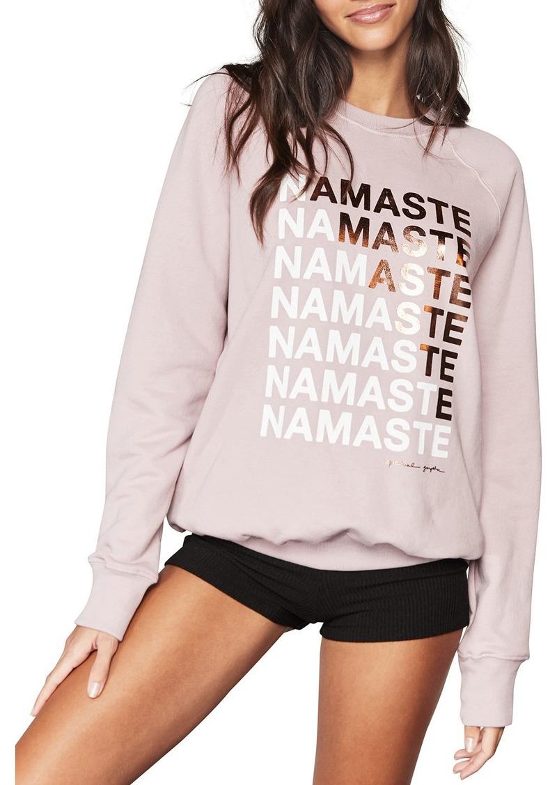 Spiritual Gangster Namaste Crewneck Sweatshirt