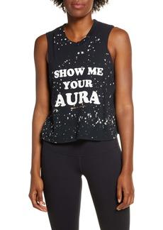 Spiritual Gangster Aura Splatter Graphic Tank