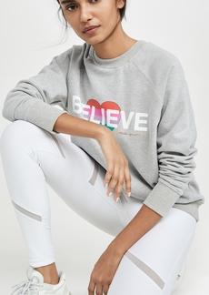 Spiritual Gangster Believe Classic Crew Sweatshirt