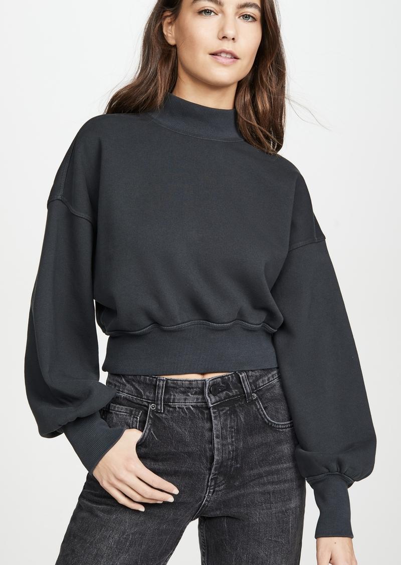 Spiritual Gangster Mock Neck Sweatshirt