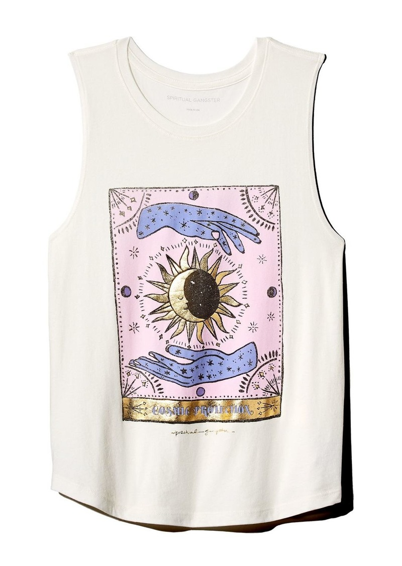 Spiritual Gangster Cosmic Protection Muscle Tank