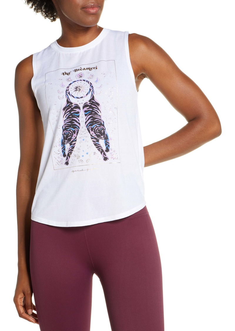 Spiritual Gangster Dreamers Graphic Muscle Tank