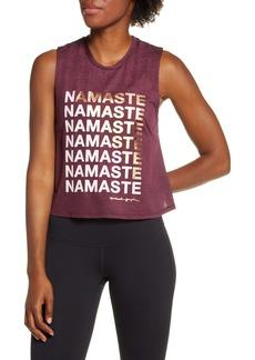 Spiritual Gangster Namaste Active Crop Tank