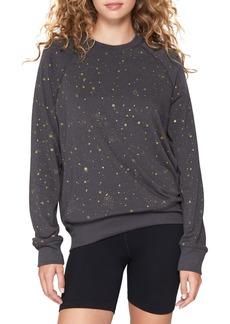 Spiritual Gangster Old School Star Print Sweatshirt
