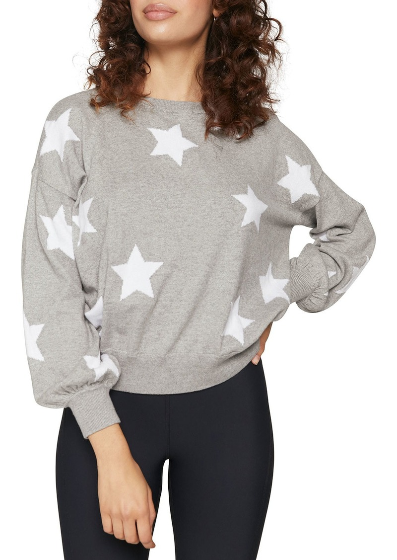 Spiritual Gangster Stars Block Party Crewneck Heathered Sweater