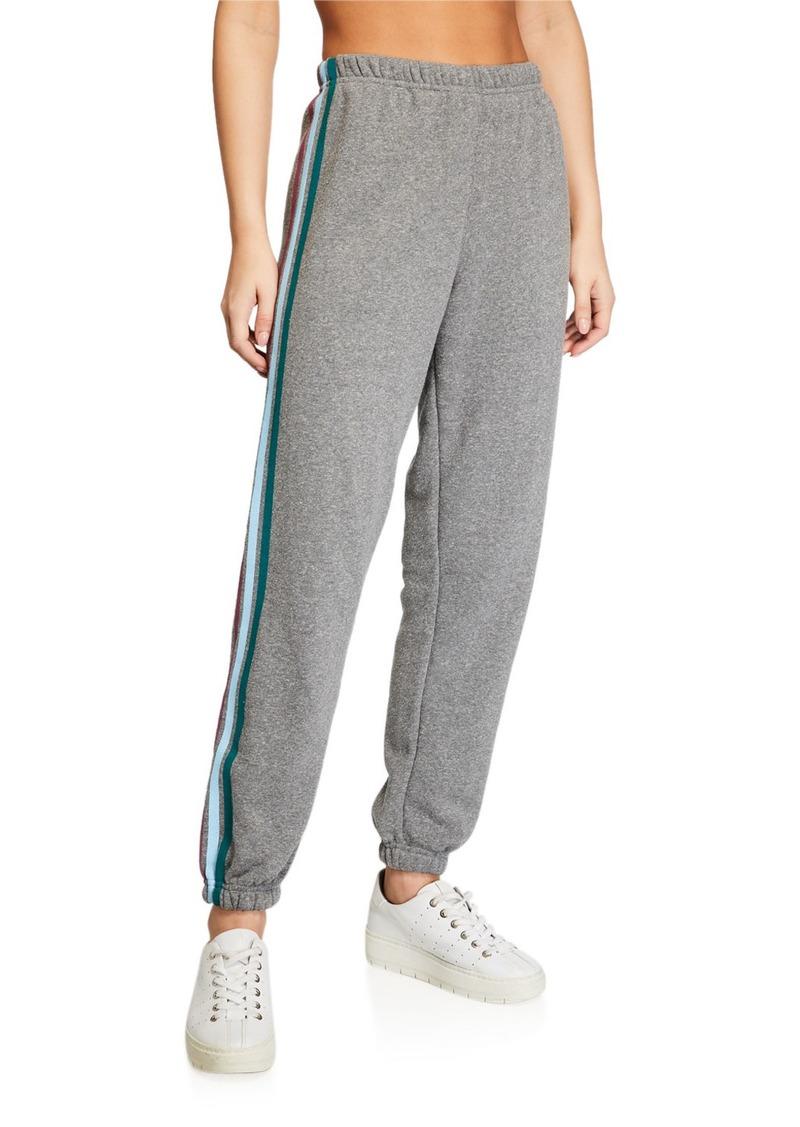 Spiritual Gangster Stripe Sessions Cotton Sweatpants