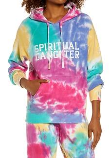 Women's Spiritual Gangster Classic Tie Dye Hoodie
