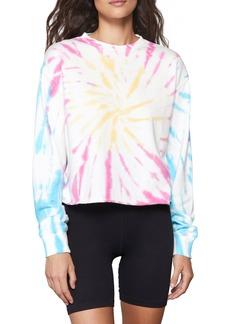 Women's Spiritual Gangster Follow Mazzy Tie Dye Sweatshirt